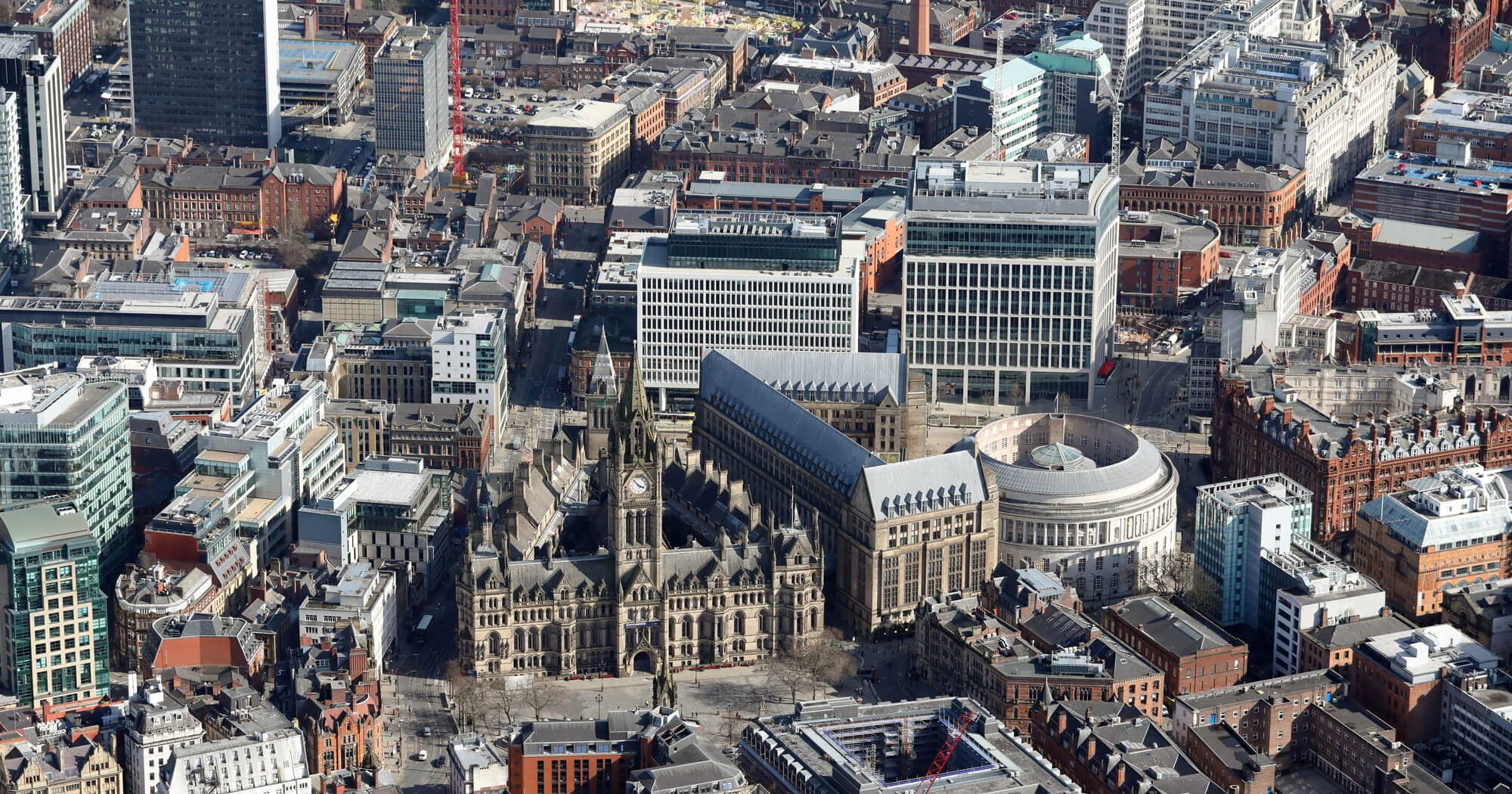 aerial-view-manchester-town-hall-city