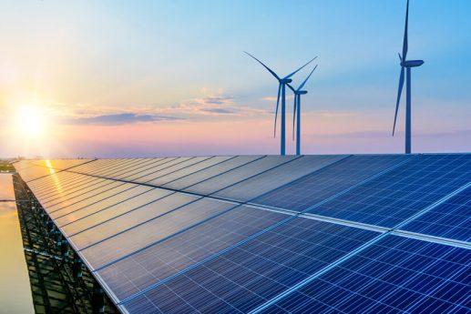 solar panels wind power generation equipment